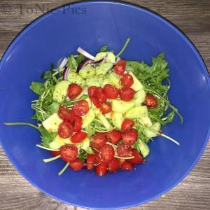 Tom bloggt seinen Alltag Toms Kochecke Italienisch - Griechischer Salat 1 (1 von 3)