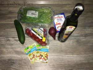 Tom bloggt seinen Alltag Toms Kochecke Italienisch - Griechischer Salat 1 (3 von 3)