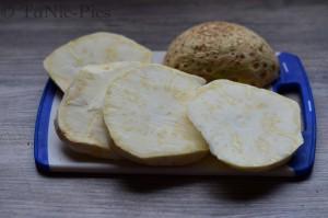 Tom bloggt seinen Alltag Toms Kochecke Vegetarisches Schnitzel Sellerie Schnitzel (1 von 9)