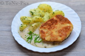 Tom bloggt seinen Alltag Toms Kochecke Vegetarisches Schnitzel Sellerie Schnitzel (9 von 9)