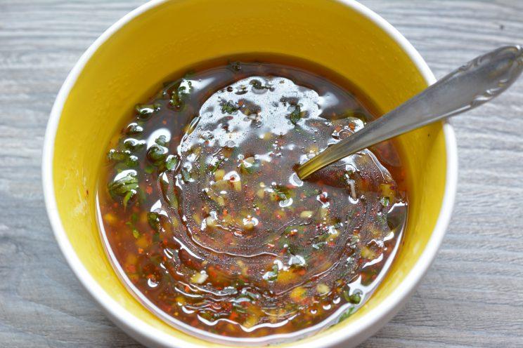 Tom bloggt seinen Alltag Toms Kochecke Sojamedallions mit fruchtigen Salat