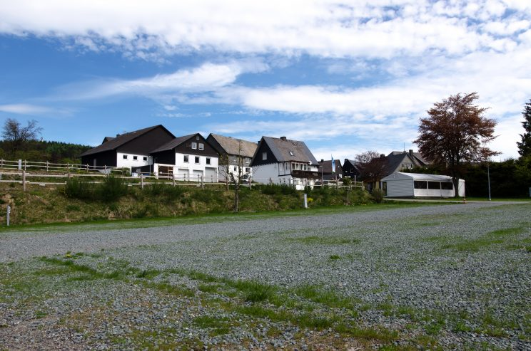 manni abgefahren, das erste Mal Camping - Bericht Stellplatz Winterberg, tom bloggt seinen alltag