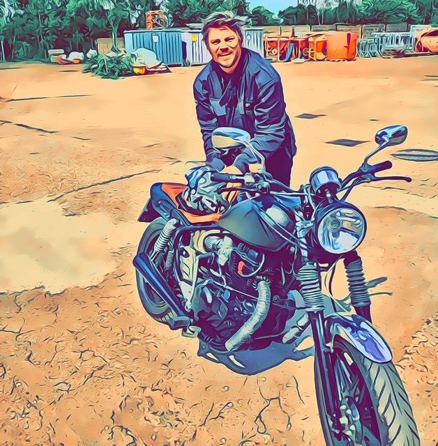 """Buchempfehlung """"der Bohlen-Weg... Planieren statt Sanieren"""", Tom bloggt seinen Alltag als Schriftsteller, mein Motorrad"""