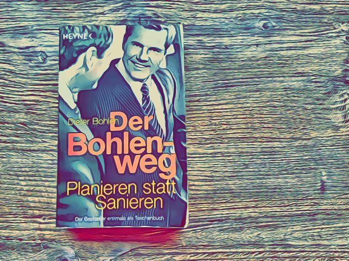 """Buchempfehlung """"der Bohlen-Weg... Planieren statt Sanieren"""", Tom bloggt seinen Alltag als Schriftsteller"""